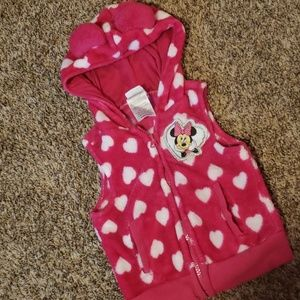 3/$12 Minnie mouse vest